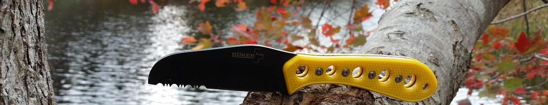 The Boker Canoe Kayak Knife, designed by Abe Elias of Diving Sparrow Knifeworks is a regular companion on my kayak trips